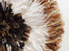 Juju Feather Hat Natural, ivory, Partridge - 80cm | 31.5""