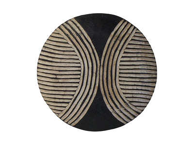 Bamileke Tribal Shield  -Circles