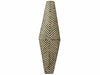 Bamileke Carved Wood Shield - Oblong