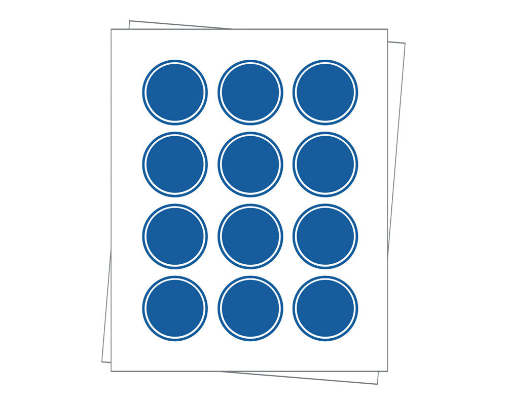 Round Sheet Labels