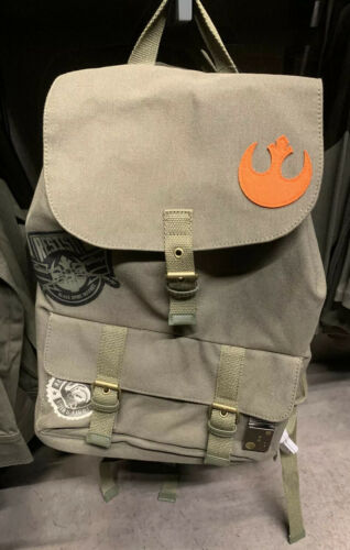 Galaxy's Edge Resistance Outpost Canvas Backpack