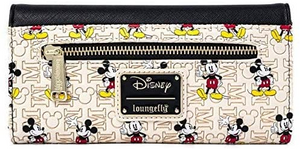 Loungefly Disney Mickey Mouse Hardware Flap Wallet