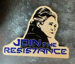 "Galaxy's Edge ""Join The Resistance Magnet"""