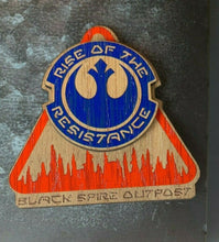 Load image into Gallery viewer, Galaxy's Edge Disneyland Rise of the Resistance Black Spire Outpost Magnet