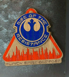 Galaxy's Edge Disneyland Rise of the Resistance Black Spire Outpost Magnet