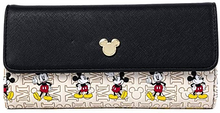 Load image into Gallery viewer, Loungefly Disney Mickey Mouse Hardware Flap Wallet