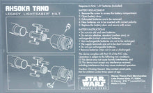 Load image into Gallery viewer, Galaxy's Edge Ashoka Tano Legacy Lightsaber Hilts Instructions