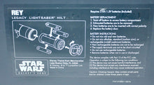 Load image into Gallery viewer, Galaxy's Edge Rey Legacy Lightsaber Hilt Instructions