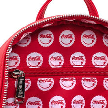 Load image into Gallery viewer, Loungefly X Coca-Cola Logo with Coin Purse Mini Backpack