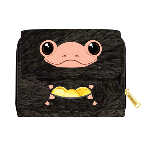 Loungefly Fantastic Beasts Niffler Plush Wallet - Pre-Order March