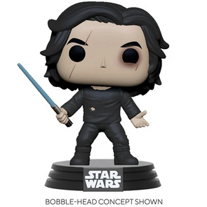 Star Wars Ben Solo with Blue Saber Pop! Vinyl Figure - Pre-order May