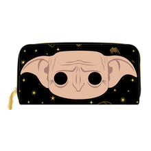 Load image into Gallery viewer, POP by Loungefly Harry Potter Dobby Head Ziparound Wallet  - Pre-Order March