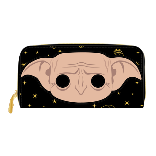 POP by Loungefly Harry Potter Dobby Head Ziparound Wallet  - Pre-Order March