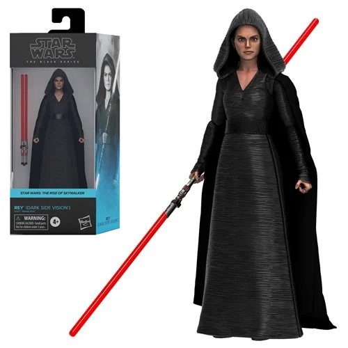 Star Wars The Black Series Rey (Dark Side Vision) 6-Inch Action Figure - Pre-Order May 2021
