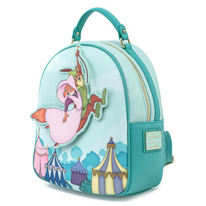 Loungefly Disney Robin Hood Rescues Maid Marian Mini Backpack