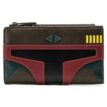 Load image into Gallery viewer, Loungefly Star Wars Boba Fett Flap Wallet - Pre-Order April