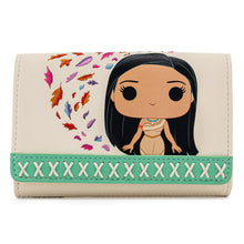 Load image into Gallery viewer, Pop! by Loungefly Disney Earth Day Pocahontas Meeko Flit Earth Day Zip Around Wallet - Pre-Order April