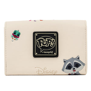 Pop! by Loungefly Disney Earth Day Pocahontas Meeko Flit Earth Day Zip Around Wallet - Pre-Order April