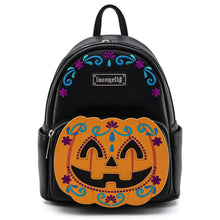 Load image into Gallery viewer, Loungefly Halloween Pumpkin Mini Backpack Front