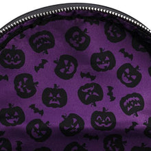 Load image into Gallery viewer, Loungefly Halloween Pumpkin Mini Backpack Inner Lining
