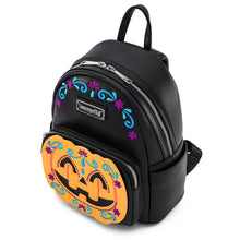 Load image into Gallery viewer, Loungefly Halloween Pumpkin Mini Backpack Overhead