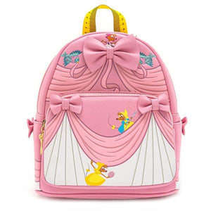 Loungefly Disney Princess Cinderella Pink Dress Mini Backpack Front