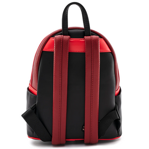 Loungefly Marvel Deadpool Merc With A Mouth Mini Backpack Back Straps