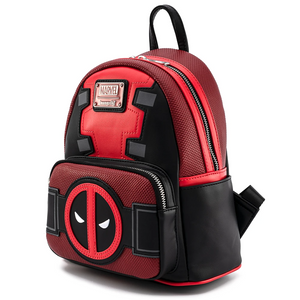 Loungefly Marvel Deadpool Merc With A Mouth Mini Backpack Side