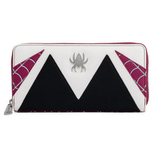 Load image into Gallery viewer, Loungefly Marvel Spider Gwen Cosplay Ziparound Wallet - Pre-Order May