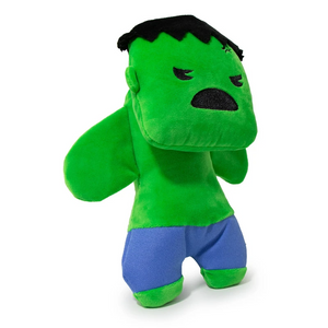 Marvel Hulk Standing Pose Plush Dog Chew Toy