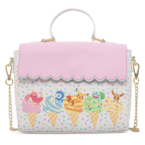 Loungefly Pokemon Ice Cream Scallop Crossbody Bag - Pre-Order May