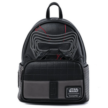 Load image into Gallery viewer, Loungefly Star Wars Kylo Ren Cosplay Mini Backpack Front