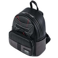 Load image into Gallery viewer, Loungefly Star Wars Kylo Ren Cosplay Mini Backpack Top Side