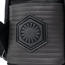 Load image into Gallery viewer, Loungefly Star Wars Kylo Ren Cosplay Mini Backpack Dark Side Emblem
