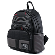 Load image into Gallery viewer, Loungefly Star Wars Kylo Ren Cosplay Mini Backpack Side