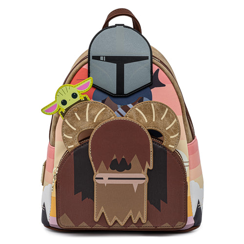 Loungefly Star Wars Mandalorian Bantha Ride Mini Backpack - Pre-Order May