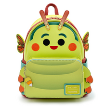 Load image into Gallery viewer, Loungefly Disney A Bugs Life Heimlich Cosplay Mini Backpack