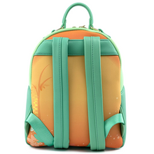 Load image into Gallery viewer, Loungefly Disney Princess and the Frog Tiana Mini Backpack Back Straps