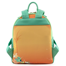 Load image into Gallery viewer, Loungefly Disney Princess and the Frog Tiana Mini Backpack Back