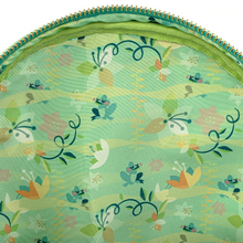 Load image into Gallery viewer, Loungefly Disney Princess and the Frog Tiana Mini Backpack Inside