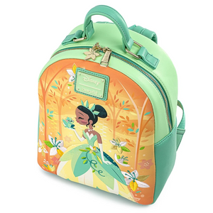 Loungefly Disney Princess and the Frog Tiana Mini Backpack Side