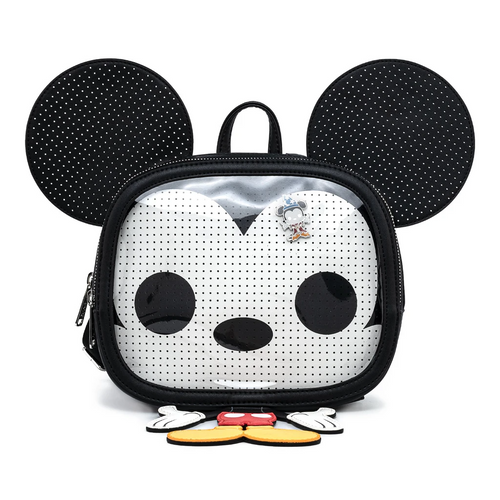 Funko Pop! By Loungefly Mickey Mouse Pin Trader Cosplay Mini Backpack Front