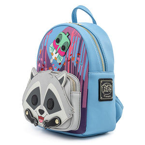 Pop! by Loungefly Disney Pocahontas Meeko Flit Earthday Cosplay Mini Backpack - Pre-Order April