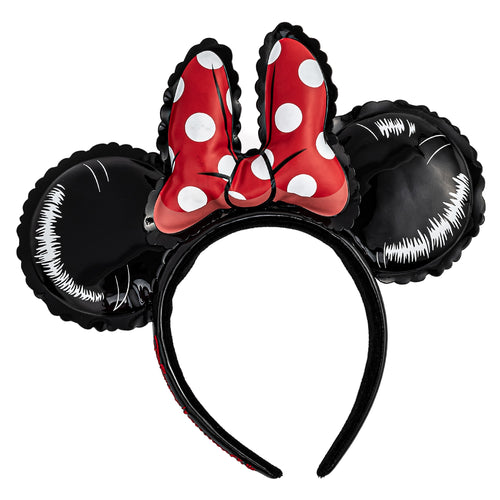 Loungefly Disney Minnie Mouse Balloon Ears With Bow Headband - Pre-Order May