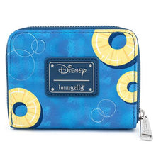 Load image into Gallery viewer, Loungefly X Disney Lilo and Stitch Pineapple Floaty Scrump Zip Around Wallet