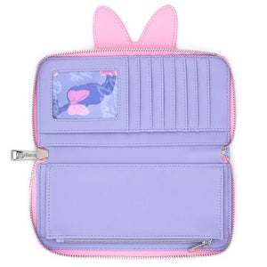 Loungefly X Disney Daisy Duck Cosplay Zip Around Wallet