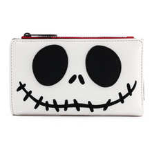 Load image into Gallery viewer, Loungefly Disney NBC Christmas Jack Cosplay Flap Wallet Front