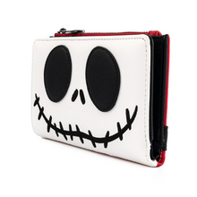Load image into Gallery viewer, Loungefly Disney NBC Christmas Jack Cosplay Flap Wallet Side View