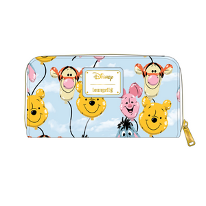 Loungefly Winnie The Pooh Balloon Friends Wallet - Pre-Order March