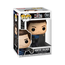Load image into Gallery viewer, The Falcon and Winter Soldier Winter Soldier Pop! Vinyl Figure - Pre-Order January